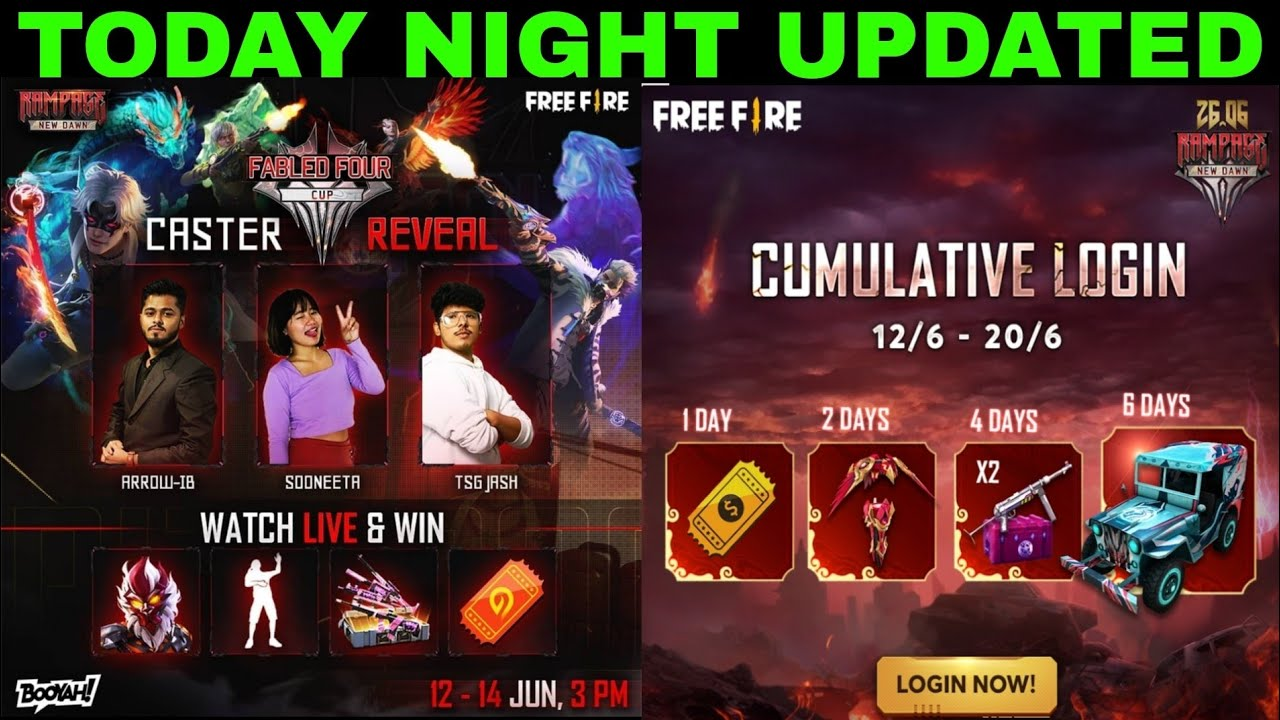 today night updated free Jeep Skin, free Lol Emote in free fire store gaming