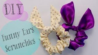 DIY TopShop Bunny Ears Scrunchie {Cute gift Ideas}   ANNEORSHINE