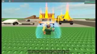 ROBLOX - Destroy Cars for Fun! 2.0.5 [SINGLEPLAYER]: Fusil de feu