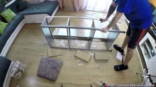 Собираем мебель IKEA - металлический стеллаж IKEA HYLLIS в Time Lapse(, 2016-03-12T06:20:11.000Z)