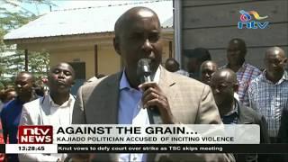 Governor  Olelenku: Some leaders in Kajiado county are inciting violence