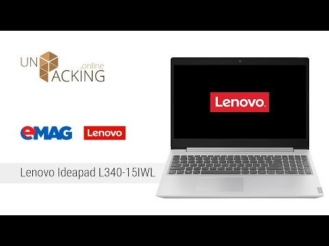 UnBoxing Laptop LENOVO Ideapad L340-15IWL100