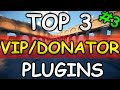"Minecraft Saturday | Top 3 ""VIP/DONATOR"" Plugins 3! 