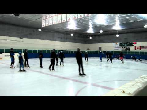 Langley Blades speedskating club Canada