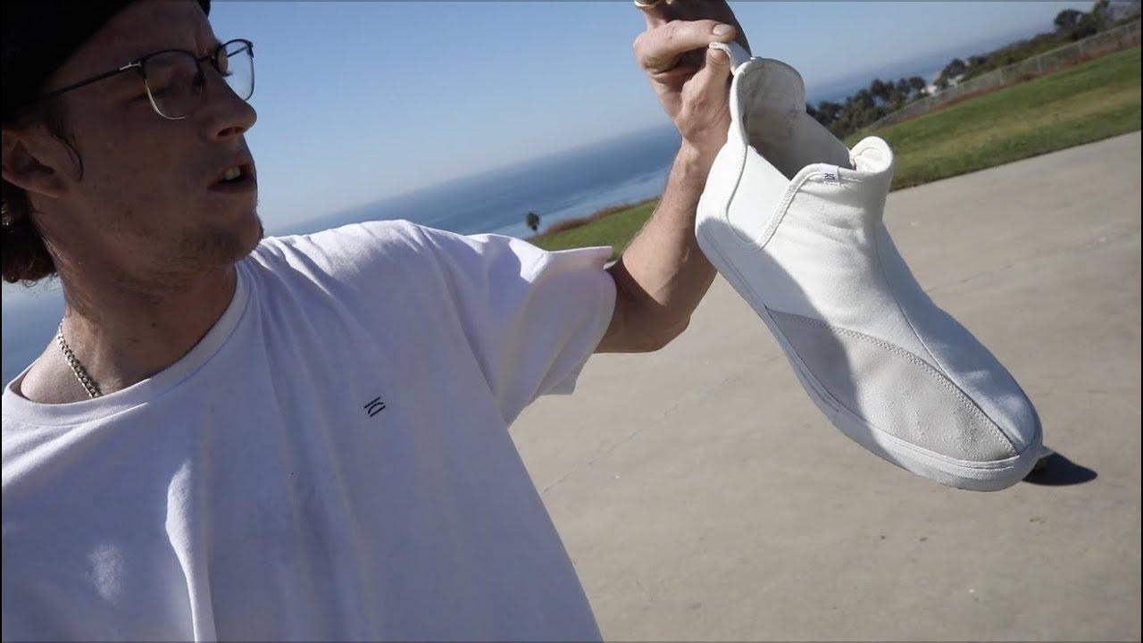 b93d9c17a 100 Kickflip In The Clear Weather Jeffrey Shoe - YouTube