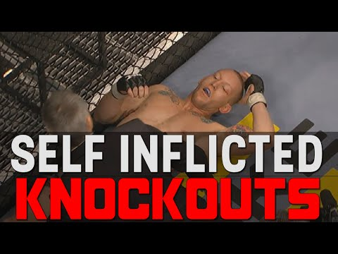 Thumbnail: Self Inflicted Knockouts In MMA