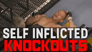Self Inflicted Knockouts In MMA