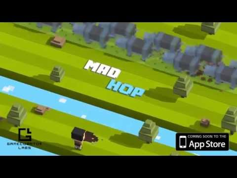 Mad Hop - Endless Arcade Game Official Launch Trailer (by Gamecubator Labs)
