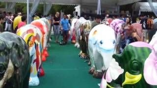 ELEPHANT PARADE SINGAPORE FINAL CONGREGATION (VOICES THAT CARE) - IN DADA