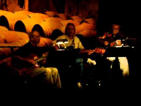 Jazz Trio performance - Dennis Sexton, John Knowlton and Dickey Curtis