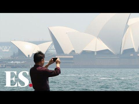 Bushfires In Australia: Terrifying Footage Of Sydney Skyline Blanketed In Smoke