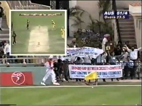 Stuart Law 72 vs West Indies 1996 World Cup SEMI FINAL