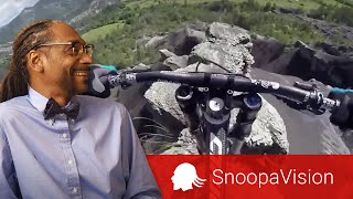 Crazy Mountain Biking POV in SnoopaVision