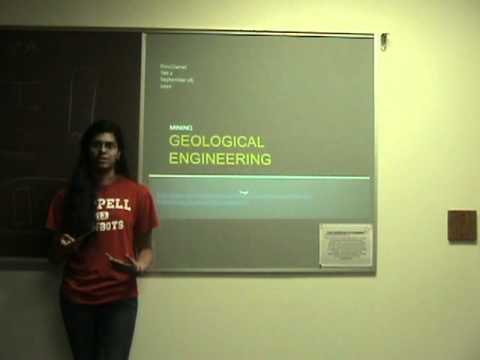 Geological Engineering by Rinu Daniel