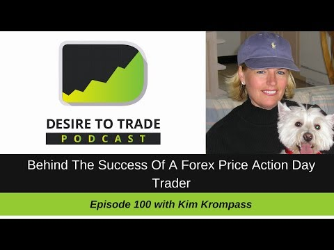 The Success Of A Forex Price Action Day Trader - Kim Krompass | Trader Interview (100)