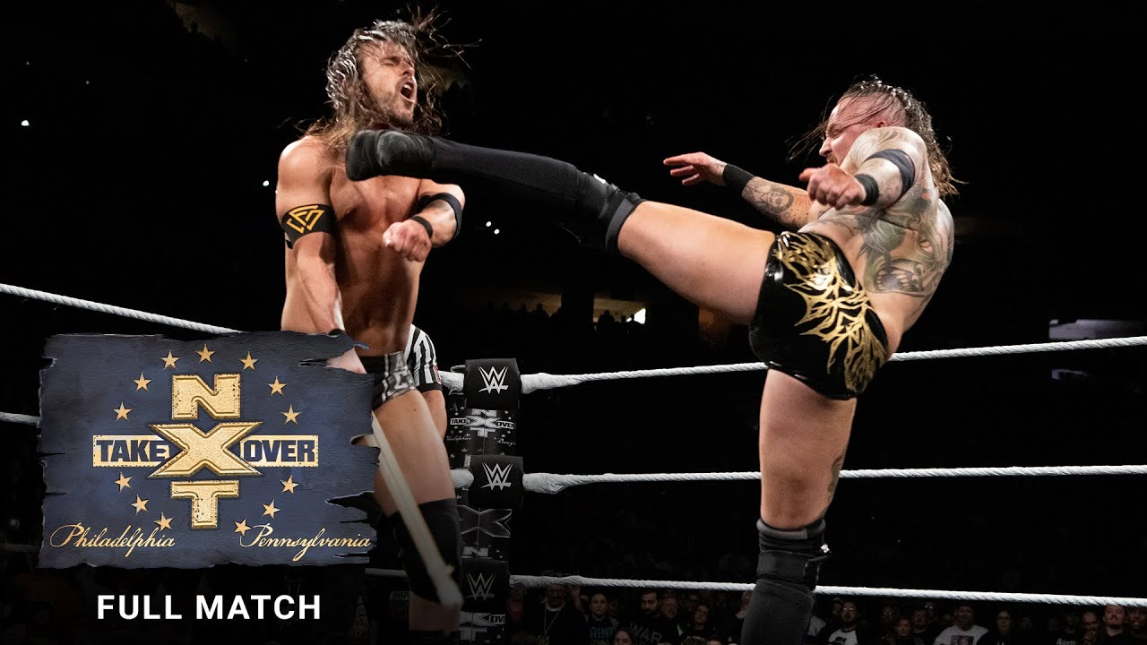 FULL MATCH - Aleister Black vs. Adam Cole - Extreme Rules Match: NXT TakeOver: Philadelphia