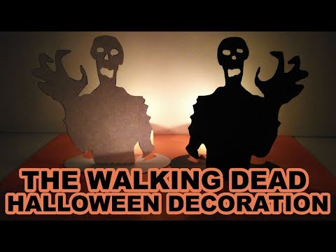 The Walking Dead Decoración Zombie Halloween Tarjeta Invitación