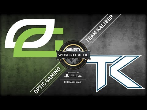 Team Kaliber vs OpTic Gaming | CWL Pro League | Stage 1 | Week 5 | Day 3