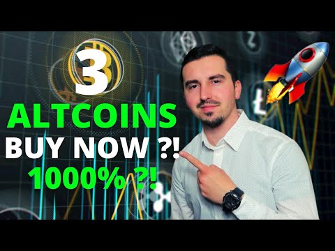 TOP 3 Crypto To Invest In May 2021 🚀|HUGE POTENTIAL 1000% ?! 🔥| Crypto BUY The Dip ?! 💥|