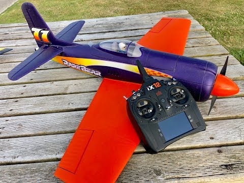 Rare Bear MAIDEN FLIGHT REVIEW with AS3X®, 880mm (EFL1250)