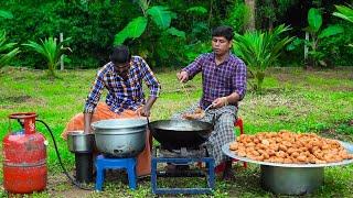 1000 MEDU VADA | Indian Kerala Traditional Snacks Uzhunnu Vada | Medu Vada Making Skill