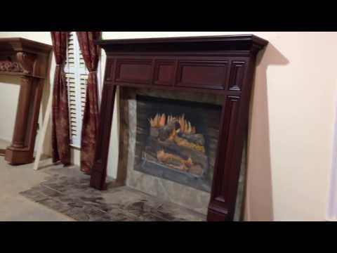 The Augusta Mantel -  From the Masters of Mantel Making