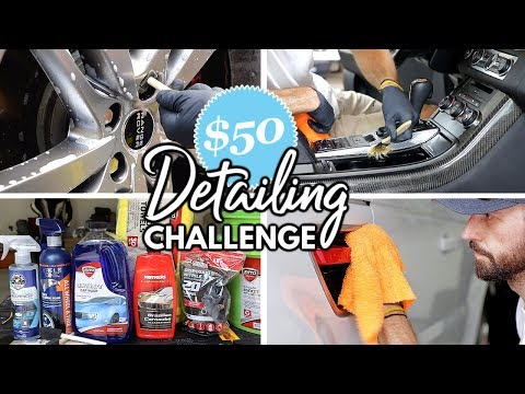 Complete Interior Exterior Detailing For Only $50 With Store Bought Products!
