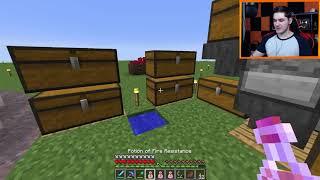 "Minecraft: Skyblock [ljaymc.pl] #8 - ""LJay ekonomista?!"""