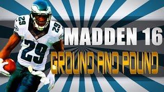 Madden 16   Ground and Pound VS  #8 ranked   full defense adjustments   Madden 16