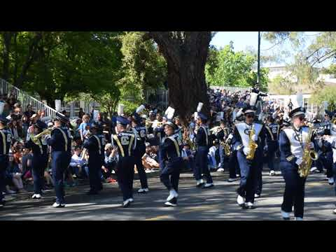 "Cal Aggie Marching Band performs ""Mr. Blue Sky"" - UC Davis Picnic Day 2018"