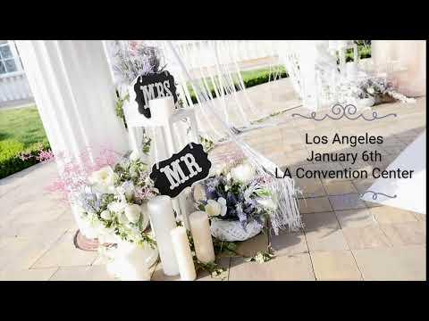 Los Angeles Bridal Show - L.A. Convention Center, Sat & Sun, JAN. 12-13th, 2019. http://bit.ly/2JHxj9e