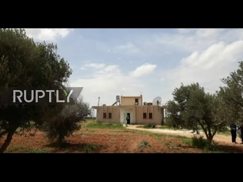 Syria: Al-Shayrat villagers say US missiles hit their homes