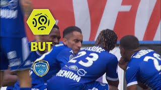 But Saïf-Eddine KHAOUI (57') / ESTAC Troyes - AS Saint-Etienne (2-1)  / 2017-18