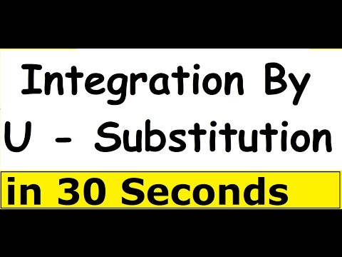 Integration By U-Substitution  ( Class12 Ncert CBSE Solutions In Hindi )