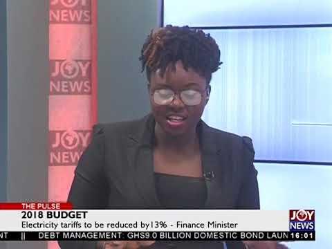 Eletricity Tariffs to Be Reduced - The Pulse on JoyNews (15-11-17)