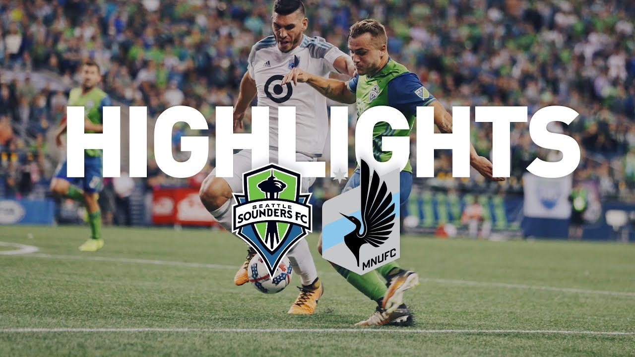 Seattle Sounders 2-1 Minnesota United FC