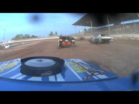 Dennis Miesler-Seymour Speedway-Heat Race_7-12-15