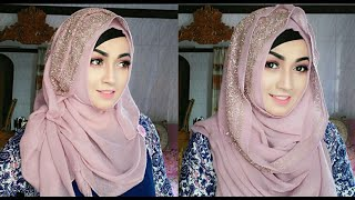 Easy and Comfortable Hijab styles with Gown | Pari ZaaD