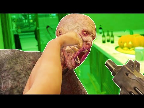 Brawling Against Zombies in VR - Drunkn Bar Fight Halloween DLC VR