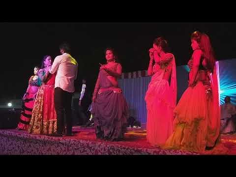 Bhojpuri Stage Show   Arbind Akela Kallu & Nisha Pandey - कल्लू खातिर लड़की खोजता
