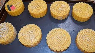 Cách Làm Bột Vỏ Bánh Nướng Trung Thu và  Cách Rửa Trứng Muối - How to make Moon Cakes Dough