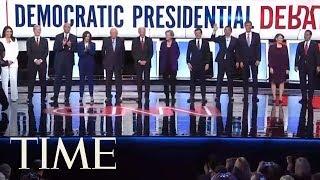 Democratic Debate Highlights: Elizabeth Warren Takes Punches From Buttigieg, Biden & More | TIME