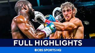 Floyd Mayweather vs Logan Paul: Fight goes the distance [Highlights, recap] | CBS Sports HQ
