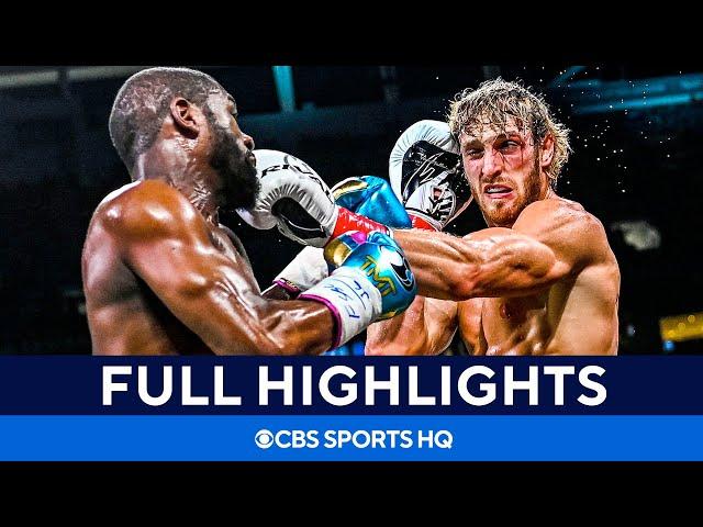 Floyd Mayweather vs Logan Paul: Fight goes the distance [Highlights, recap]   CBS Sports HQ