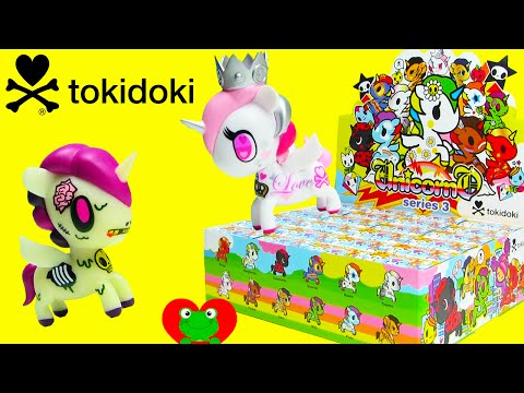 Видео: Tokidoki Unicorno Series 3 with Ultra Rare Chaser Milo