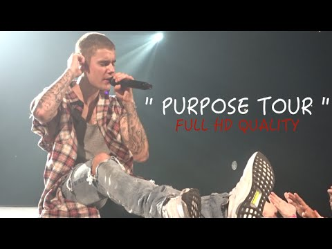 Justin Bieber 40min HD Concert Montage- Front Row - Purpose Tour - Bell Center (Montreal)-  VLOG #2