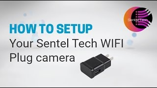 Prise USB WIFI Spy Camera Set up Tutorial