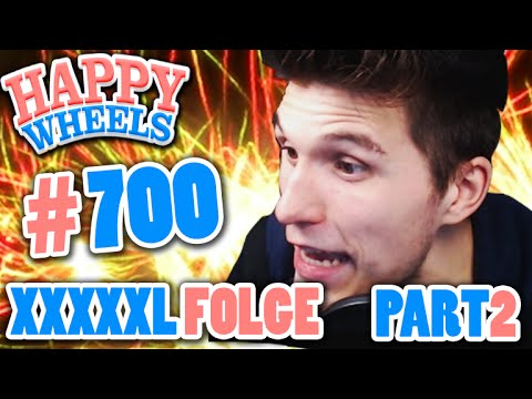 ÜBER 60 MINUTEN HAPPY WHEELS! ✪ XXXXL FOLGE #700 PART 2