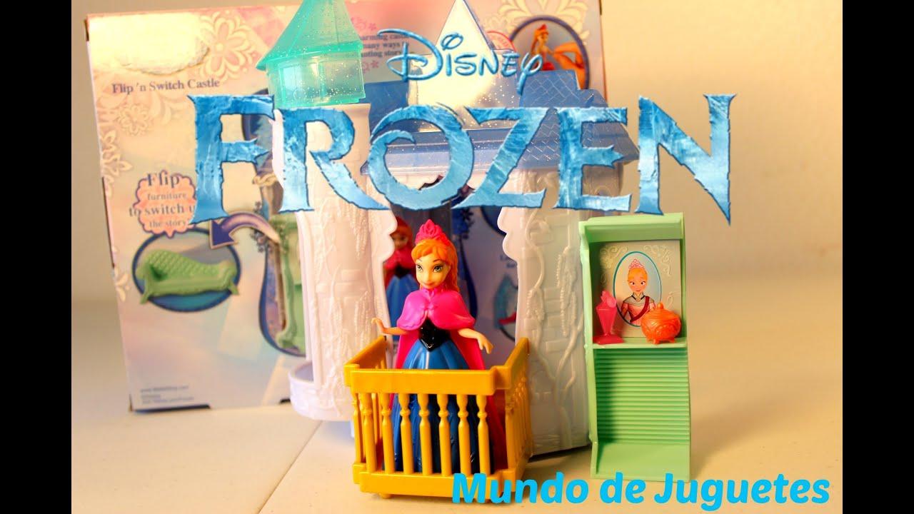 FROZEN El Castillo Magico de Frozen con la princesa Anna Mundo
