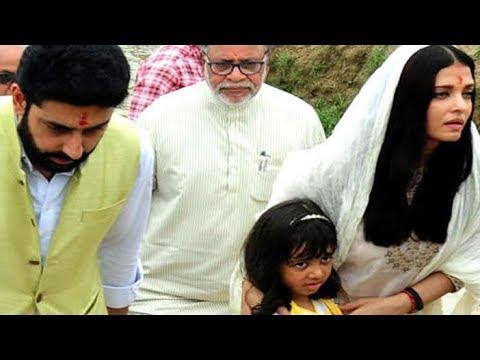 1st Time 2 घंटे के लिए ससुराल पहुंची एेश्वर्या, साथ में अभिषेक-आराध्या - Allahabad Aishwarya Rai